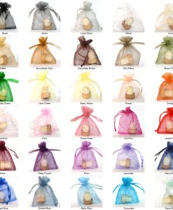 Organza bag wedding favor packaging