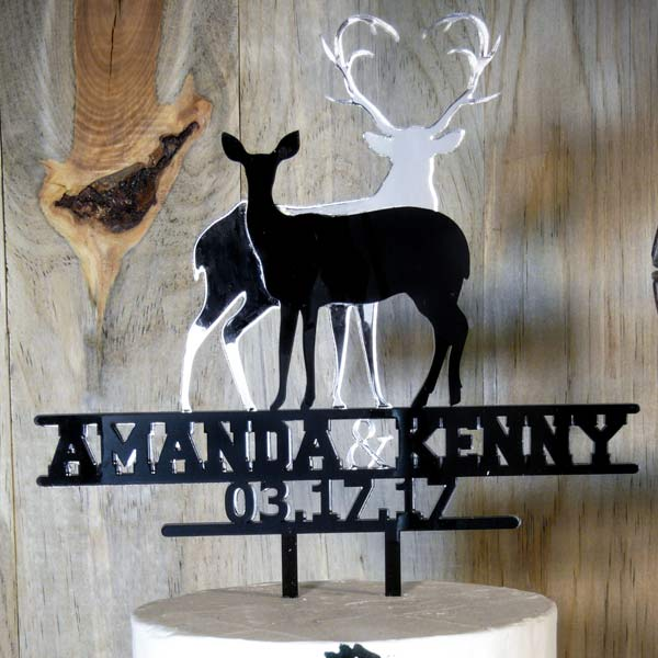 Amazoncom Deer Cake Toppers