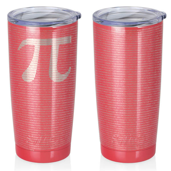 coral-20-oz-stainless-steel-SWIG-insulated-tumbler-laser-engraved-math-geek-science-teacher-pi-10000-digits
