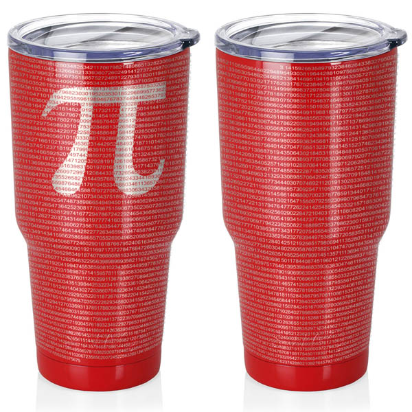 crimson-red-30-oz-stainless-steel-SWIG-insulated-tumbler-laser-engraved-math-geek-science-teacher-pi-10000-digits