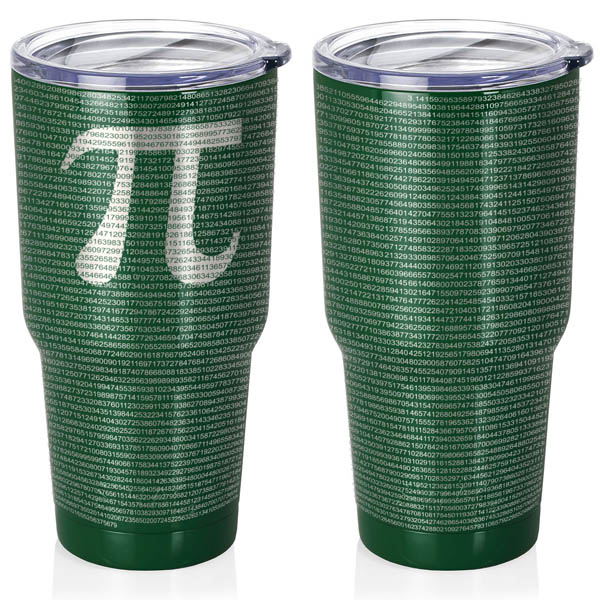 forest-green-30-oz-stainless-steel-SWIG-insulated-tumbler-laser-engraved-math-geek-science-teacher-pi-10000-digits