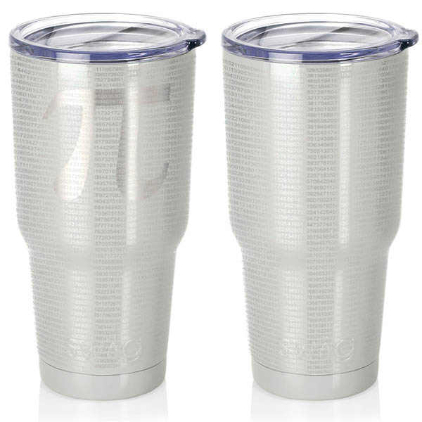 pearl-white-30-oz-stainless-steel-SWIG-insulated-tumbler-laser-engraved-math-geek-science-teacher-pi-10000-digits