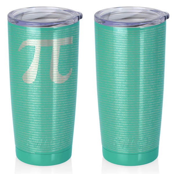 turquoise-20-oz-stainless-steel-SWIG-insulated-tumbler-laser-engraved-math-geek-science-teacher-pi-10000-digits
