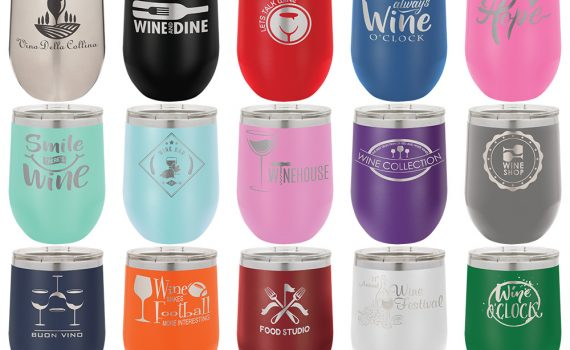 12-oz-powder-coated-custom-stainless-steel-stemless-wine-tumbler-glass-mug-lid-laser-engraved-etched-lid
