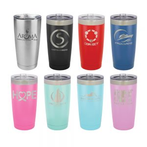20-oz-powder-coated-custom-stainless-steel-insulated-tumbler-glass-mug-lid-laser-engraved-logo-etched