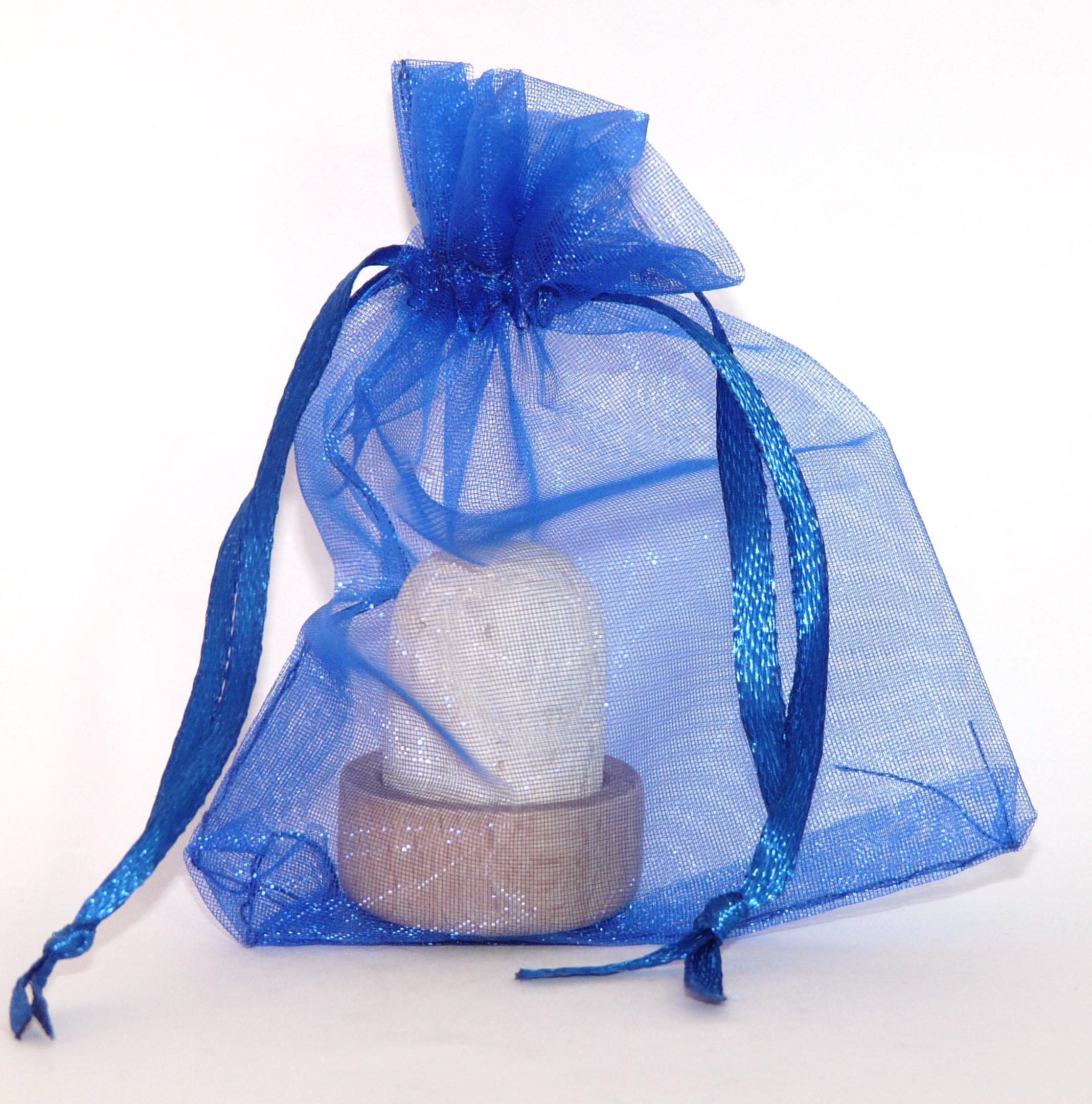 Royal Blue 3 X 4 Organza Favor Bags