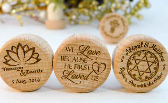 Religious & Spiritual Personalized Wine Stopper Designs