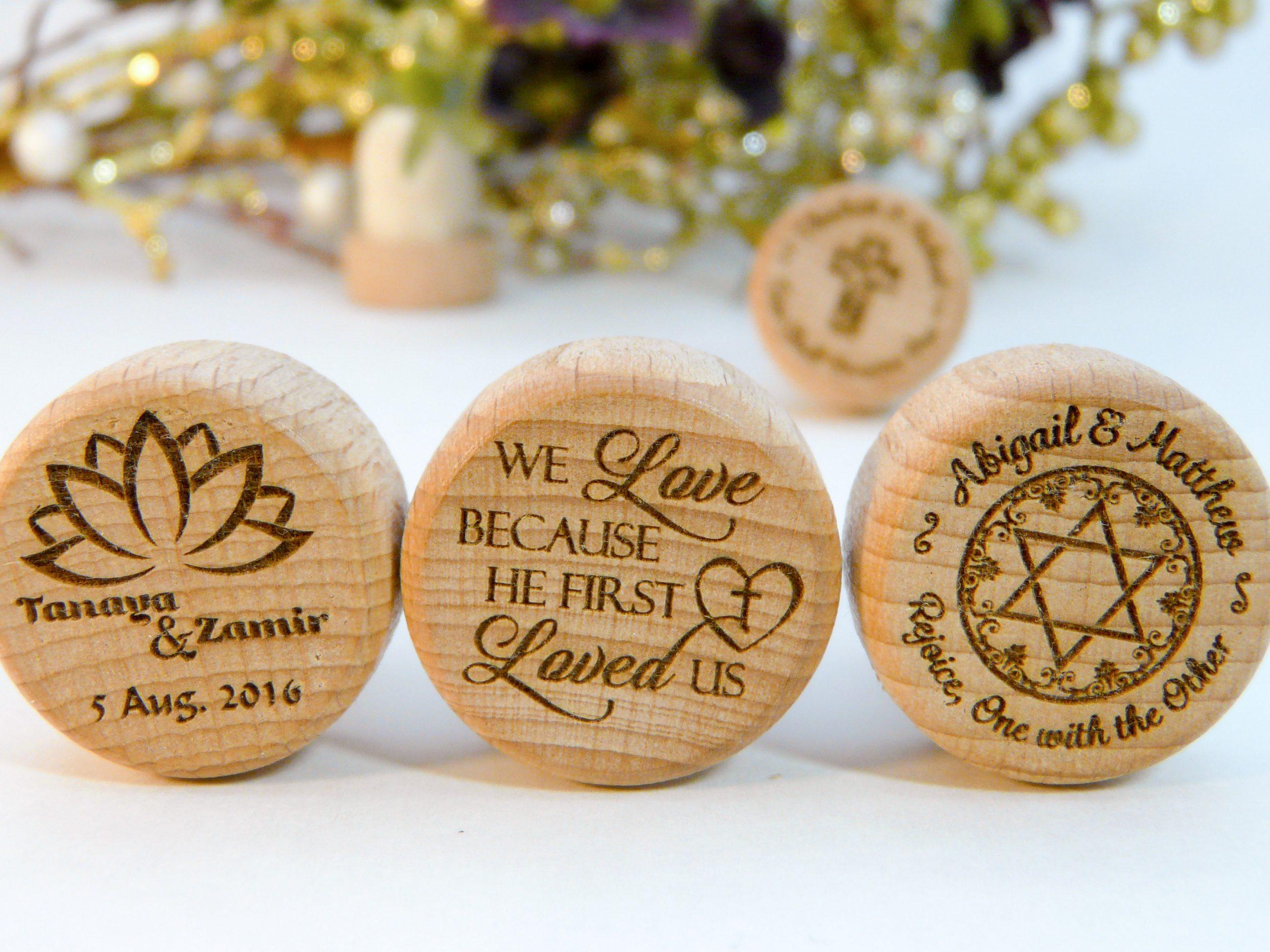Religious & Spiritual Personalized Wine Stopper Designs