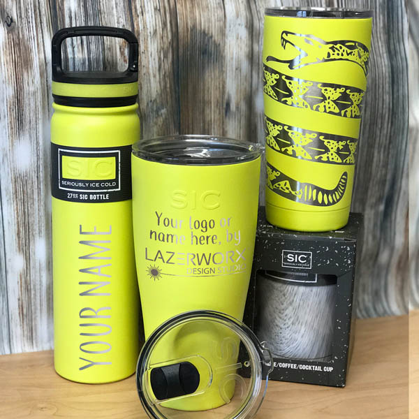 SIC-Cups-12-20-27-30-oz-lemon-yellow-stainless-steel-tumbler-bottle-laser-engraved-personalized-logo-lazerworx
