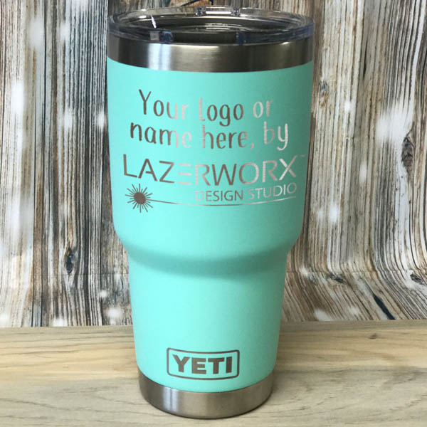 Logo Laser Engraved Yeti Ozark Trail 30 Oz Stainless
