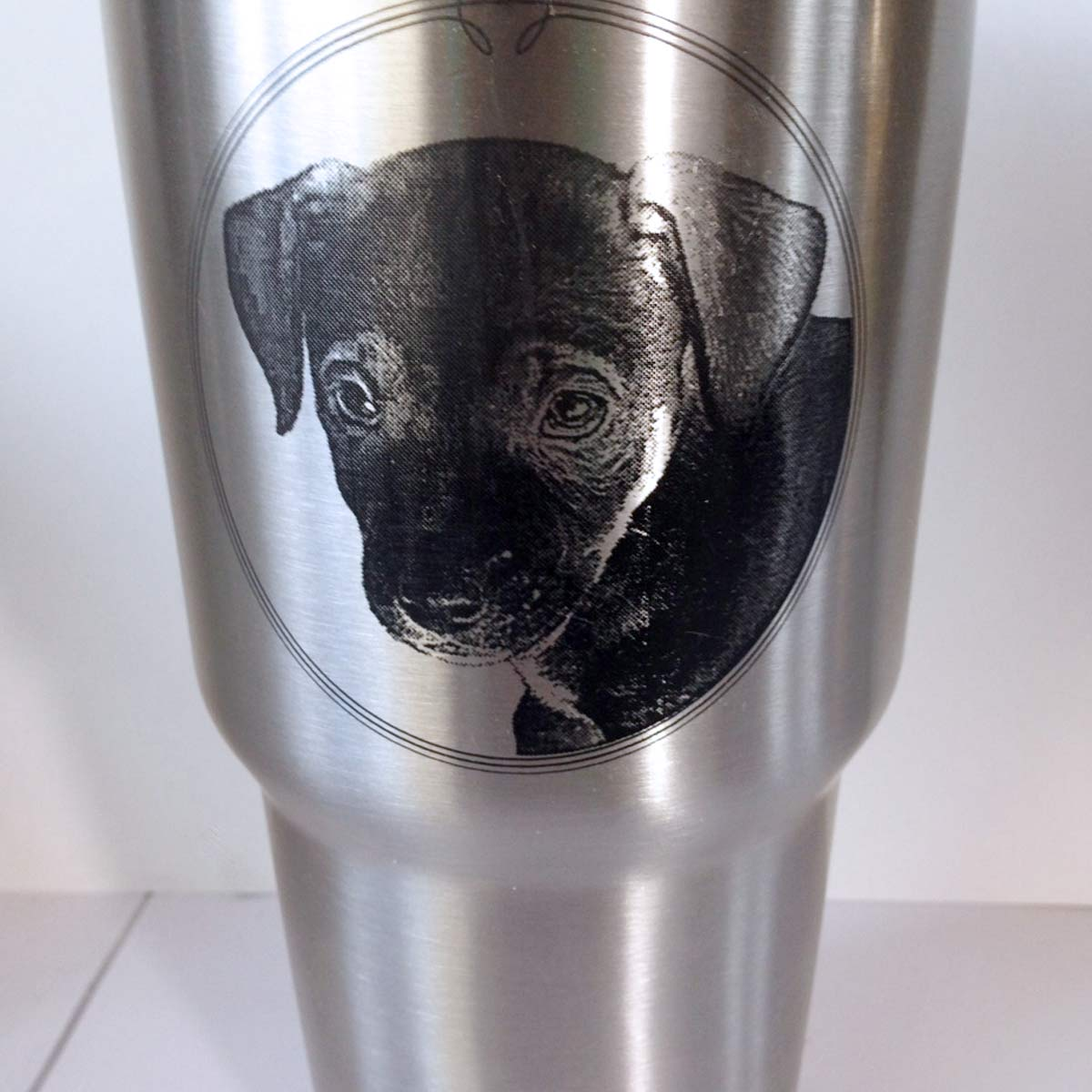 Get your Yeti or Ozark Trail laser engraved with your favorite photo!