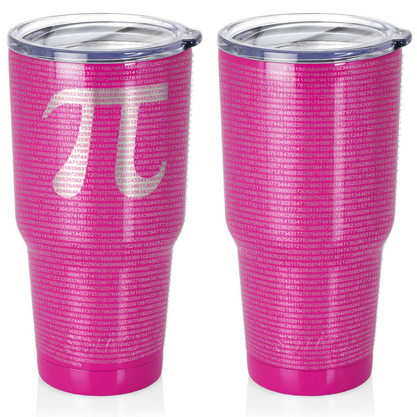 hot-pink-berry-30-oz-stainless-steel-SWIG-insulated-tumbler-laser-engraved-math-geek-science-teacher-pi-10000-digits