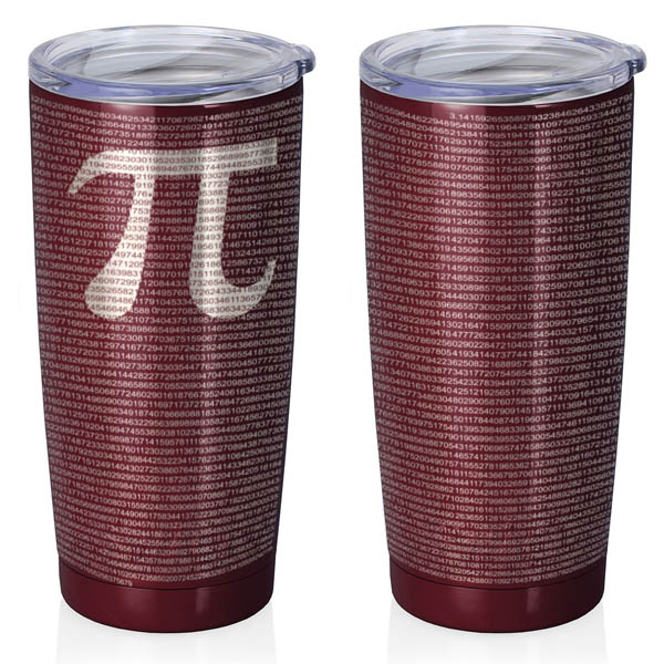 maroon-20-oz-stainless-steel-SWIG-insulated-tumbler-laser-engraved-math-geek-science-teacher-pi-10000-digits